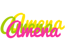 Amena sweets logo