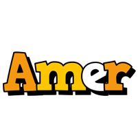 Amer cartoon logo