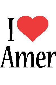 Amer i-love logo