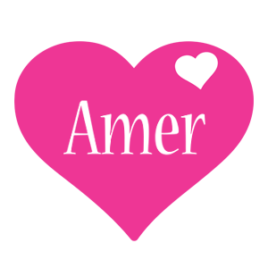 Amer love-heart logo