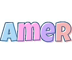 Amer pastel logo
