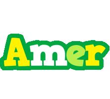 Amer soccer logo
