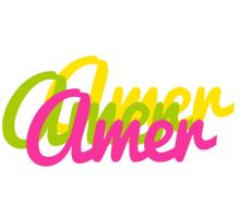 Amer sweets logo