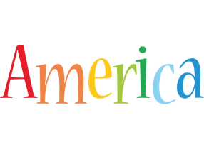 America birthday logo