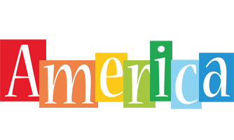 America colors logo