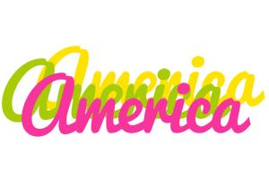 America sweets logo