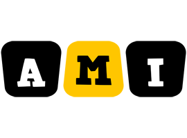 Ami boots logo