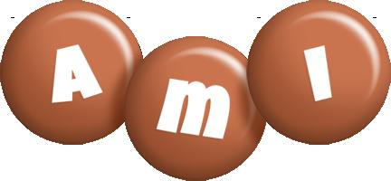 Ami candy-brown logo