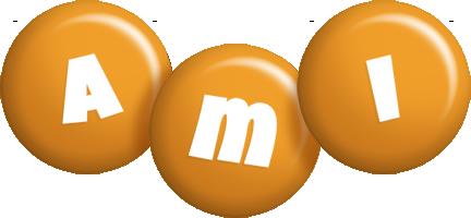 Ami candy-orange logo