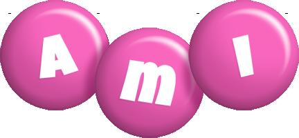 Ami candy-pink logo