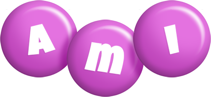 Ami candy-purple logo