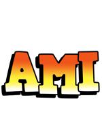 Ami sunset logo