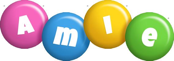 Amie candy logo
