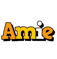Amie cartoon logo