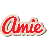 Amie chocolate logo