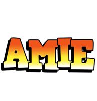 Amie sunset logo