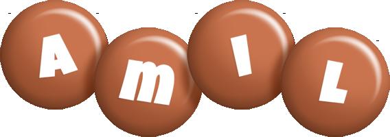 Amil candy-brown logo
