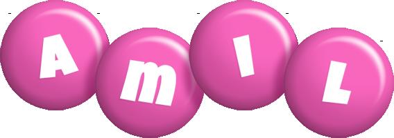 Amil candy-pink logo