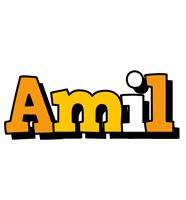 Amil cartoon logo