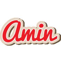 Amin chocolate logo