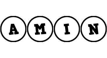 Amin handy logo