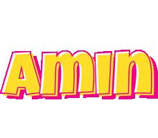 Amin kaboom logo