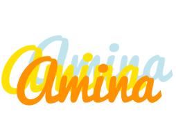 Amina energy logo