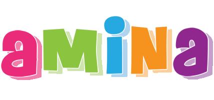 Amina friday logo