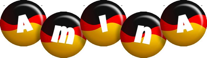 Amina german logo