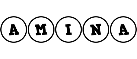 Amina handy logo