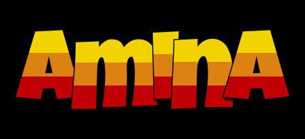 Amina jungle logo