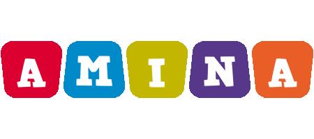 Amina kiddo logo