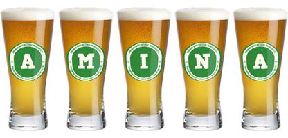 Amina lager logo