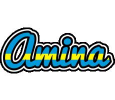 Amina sweden logo