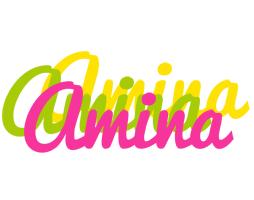 Amina sweets logo