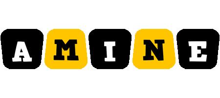 Amine boots logo