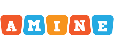 Amine comics logo