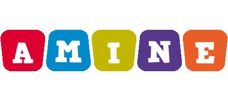 Amine daycare logo