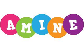 Amine friends logo