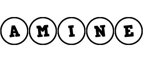 Amine handy logo