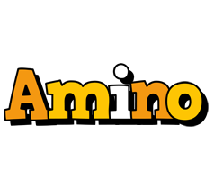 Amino cartoon logo
