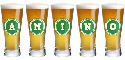 Amino lager logo