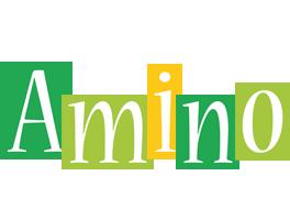 Amino lemonade logo