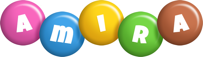 Amira candy logo