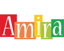 Amira colors logo