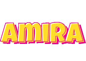 Amira kaboom logo