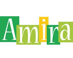 Amira lemonade logo