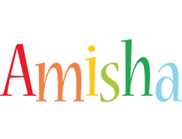 Amisha birthday logo