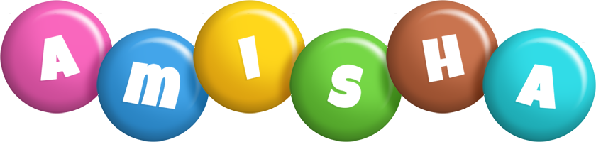 Amisha candy logo