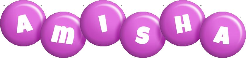 Amisha candy-purple logo